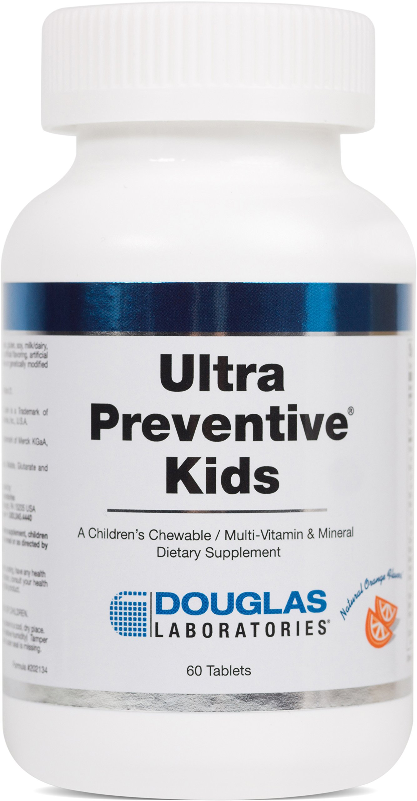 Douglas Laboratories® - Ultra Preventive Kids - Chewable Multivitamin / Mineral / Trace Element Supplement