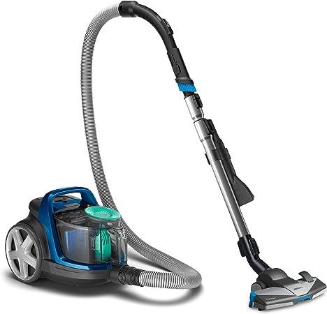 Philips Aspirador sin bolsa FC9552/09 - Aspirador sin bolsa con tecnología PowerCyclone 7, 900W, filtro de alergias, cepillo multiuso 3-en-1, diseño compacto y ligero, azul: Amazon.es: Hogar