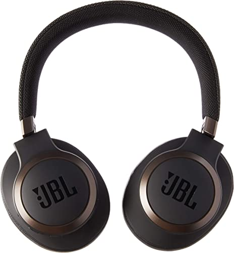 JBL Live 650 BT NC, Around-Ear Wireless Headphone with Noise Cancellation – Black