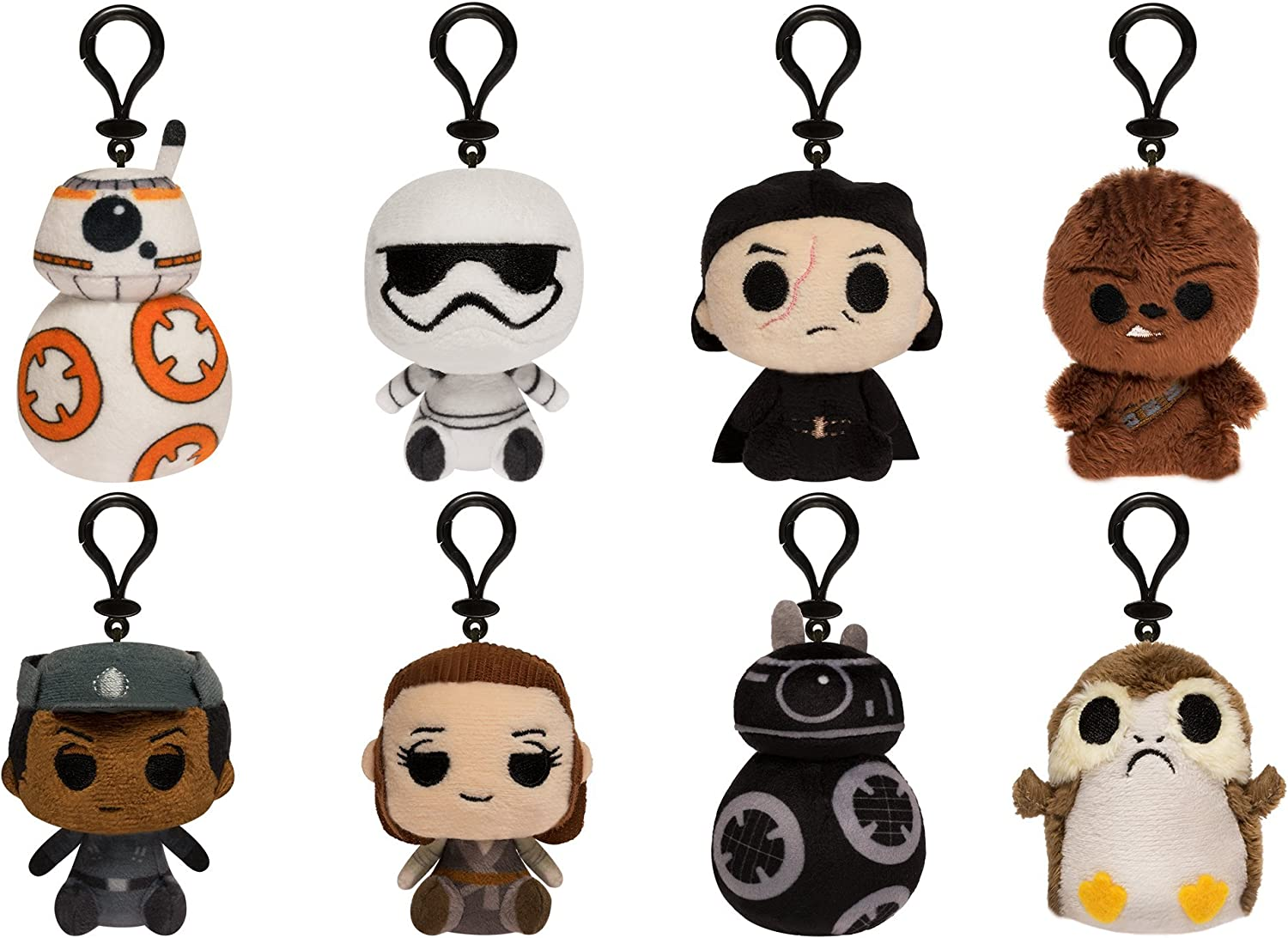 Funko Blind Bag Keychain Plush  Star Wars The Last Jedi  one Mystery Figure