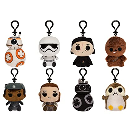 Funko Blind Bag Keychain Plush: Star Wars The Last Jedi (one Mystery Figure)