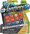 New Boy Balls B-Daman Cartoon , 16 Balls , Multi Color
