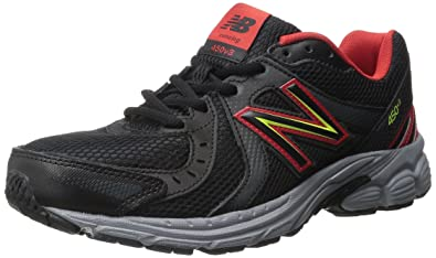 New Balance Men\u0027s M450V4 Running Shoe, Black/Red, ...