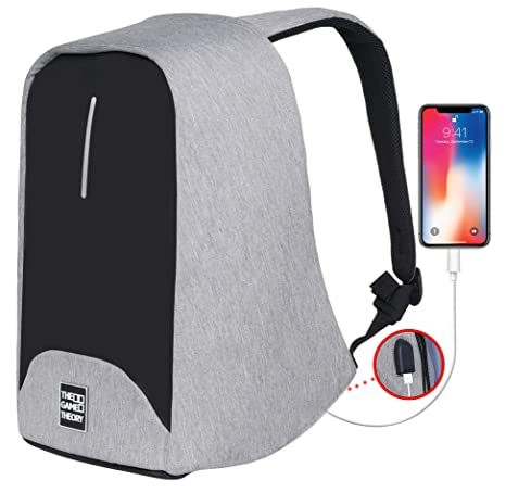 Sports & Entertainment Climbing Bags Analytical New Arrivals Adults Boys Girls Anti-theft Reflective Backpack With Usb Charging Port Outdoor Sports Traveling Safety Equipment Elegant In Style