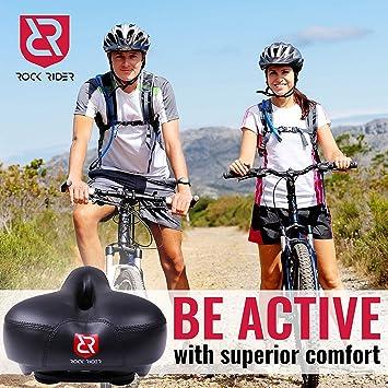 RockRider - Funda Acolchada para sillín de Bicicleta (Gel), Color ...
