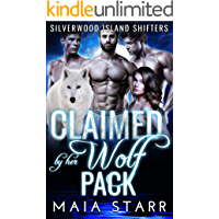 Claimed By Her Wolf Pack (Silverwood Island Shifters)