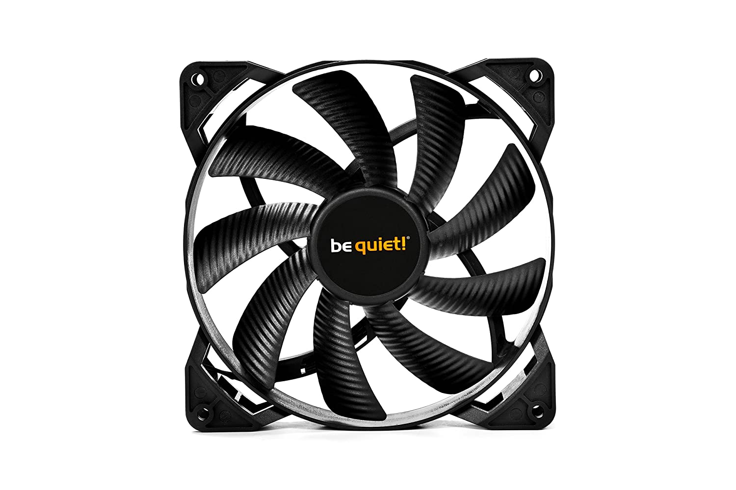 Be Quiet Bl039 Pure Wings 2 120mm Pwm Case Fan Black Cpu 3wire To Power Supply 4wire Takeoff Cable Computers Accessories