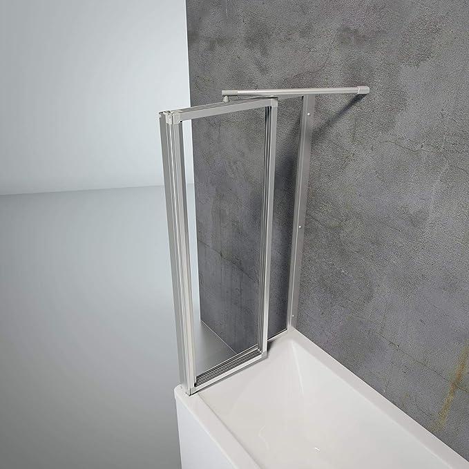 Schulte - Mampara de ducha con diseño de monstruo y texto en alemán (montaje para pegar o taladrar), D133075 01 50: Amazon.es: Bricolaje y herramientas