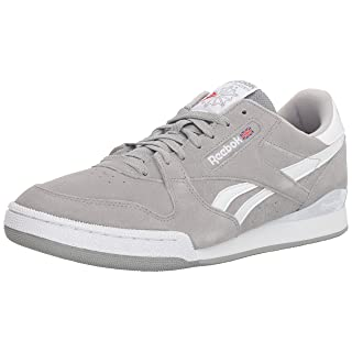 Reebok Men's Phase 1 Pro Cross Trainer est - tin Grey/White 3.5 M US