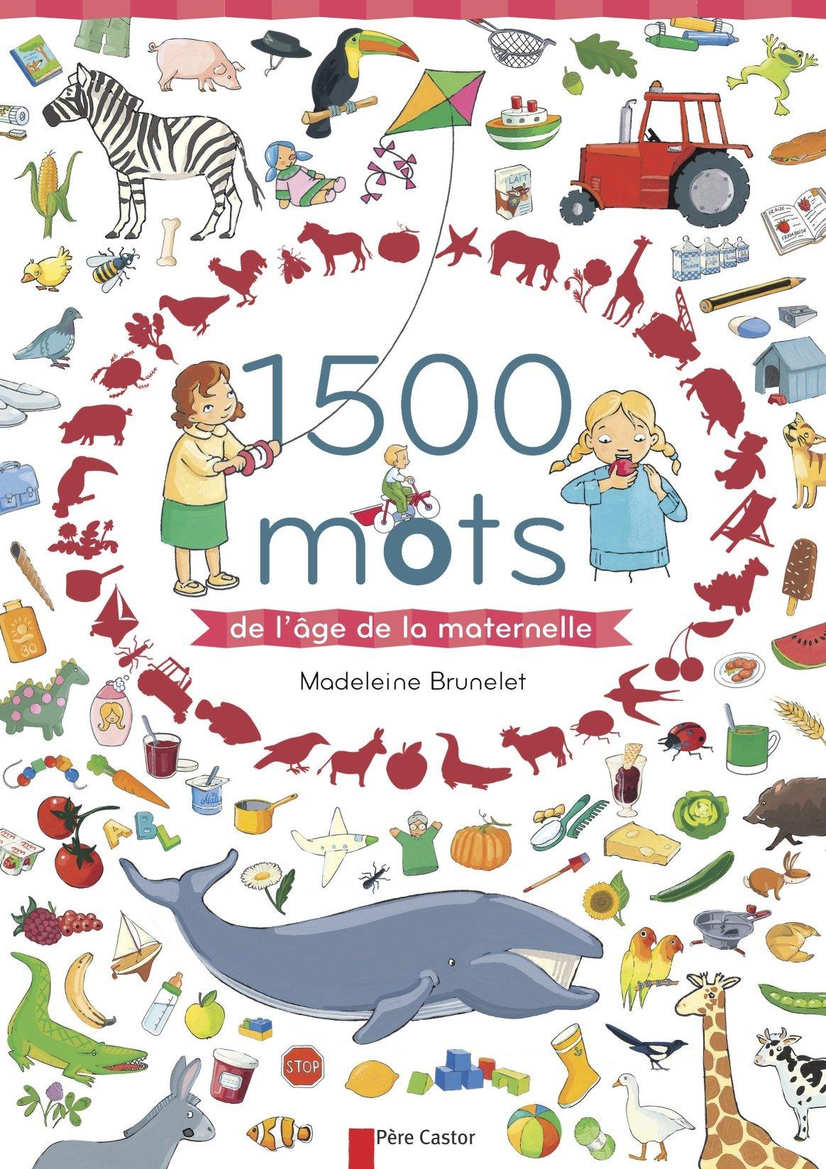 1500 Mots De L Age De La Maternelle Amazon Fr Madeleine