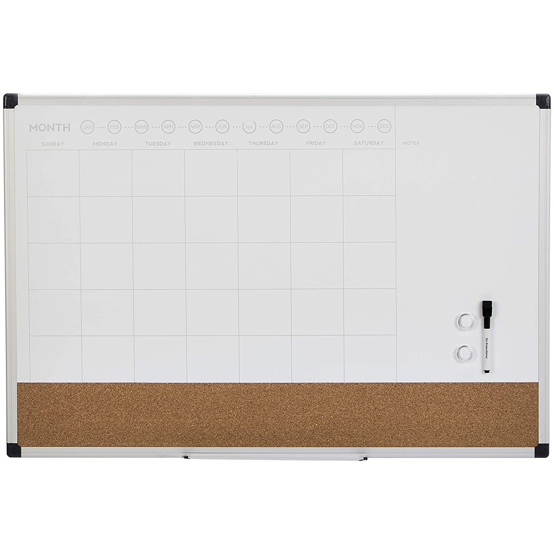 "AmazonBasics Calendar Planner Board, 24"" x 36"""