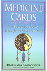 Medicine Cards: The Discovery of Power Through the Ways of Animals [With Cards] Capa comum