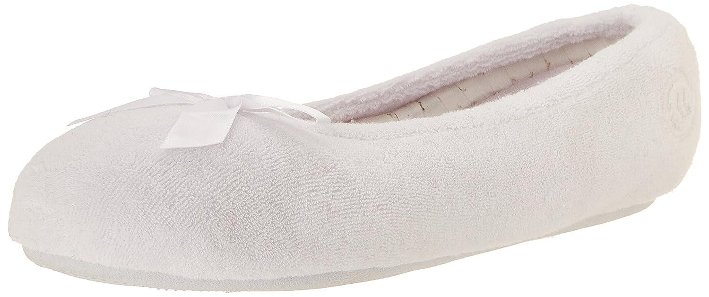 Isotoner Womens Classic Microterry Ballerina Slipper
