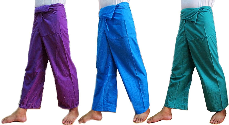 3 x Thai Fisherman Pants Pregnancy Yoga Massage Beach Summer Pants