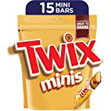 Twix Minis Chocolate Mini Bars, Pouch, 300g (15 pcs)