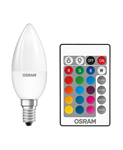 Osram 045736 Bombilla LED E14, 4.5 W, Blanco