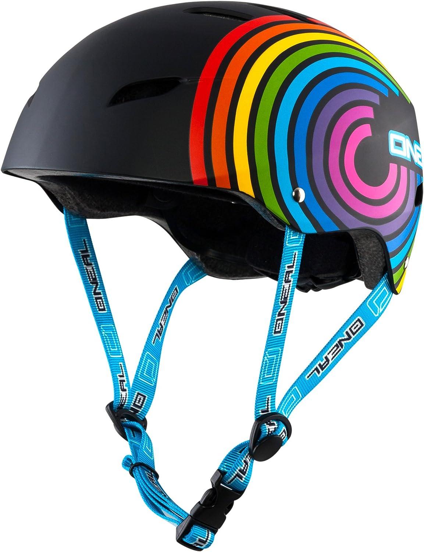 Triple 8 New York Childrens Cert Sweatsaver Rainbow Sparkle Safety Helmet