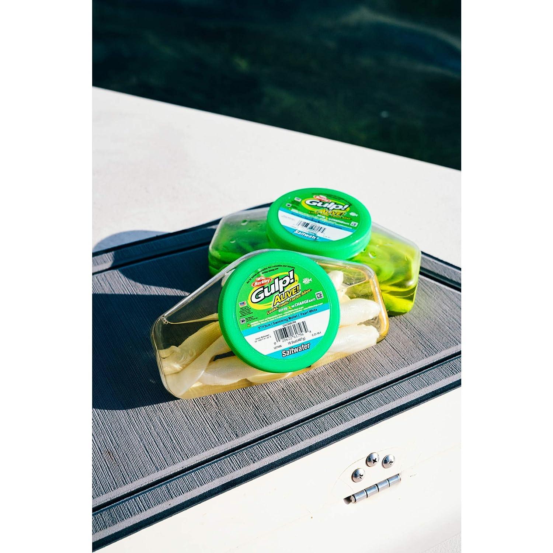 "Swimming Mullet 12.5oz Bucket 4/"" Chartreuse Bait Lure Alive Berkley Gulp"