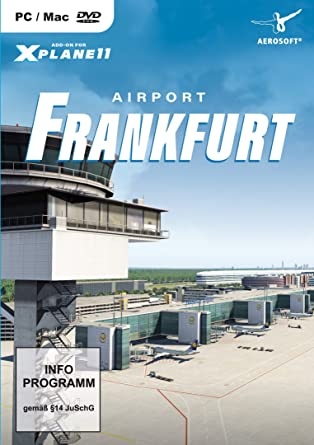 Airport Frankfurt (Add-on for XPlane11) PC DVD: Amazon co uk