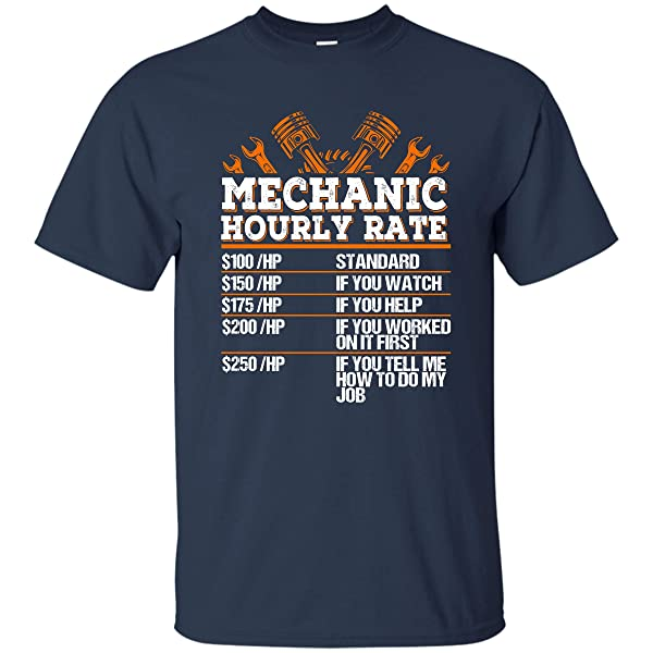Coincard Tshirt Mechanic Hourly Rate Standard If You Watch Tshirt