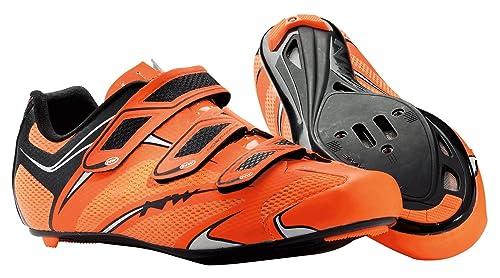Zapatillas Carretera Northwave Sonic 3S Fluo Naranja 2014: Amazon.es: Zapatos y complementos