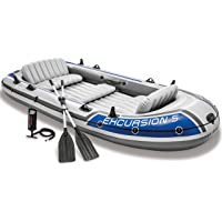 Deals on Intex Excursion 5, 5-Person Inflatable Boat Set 68325EP