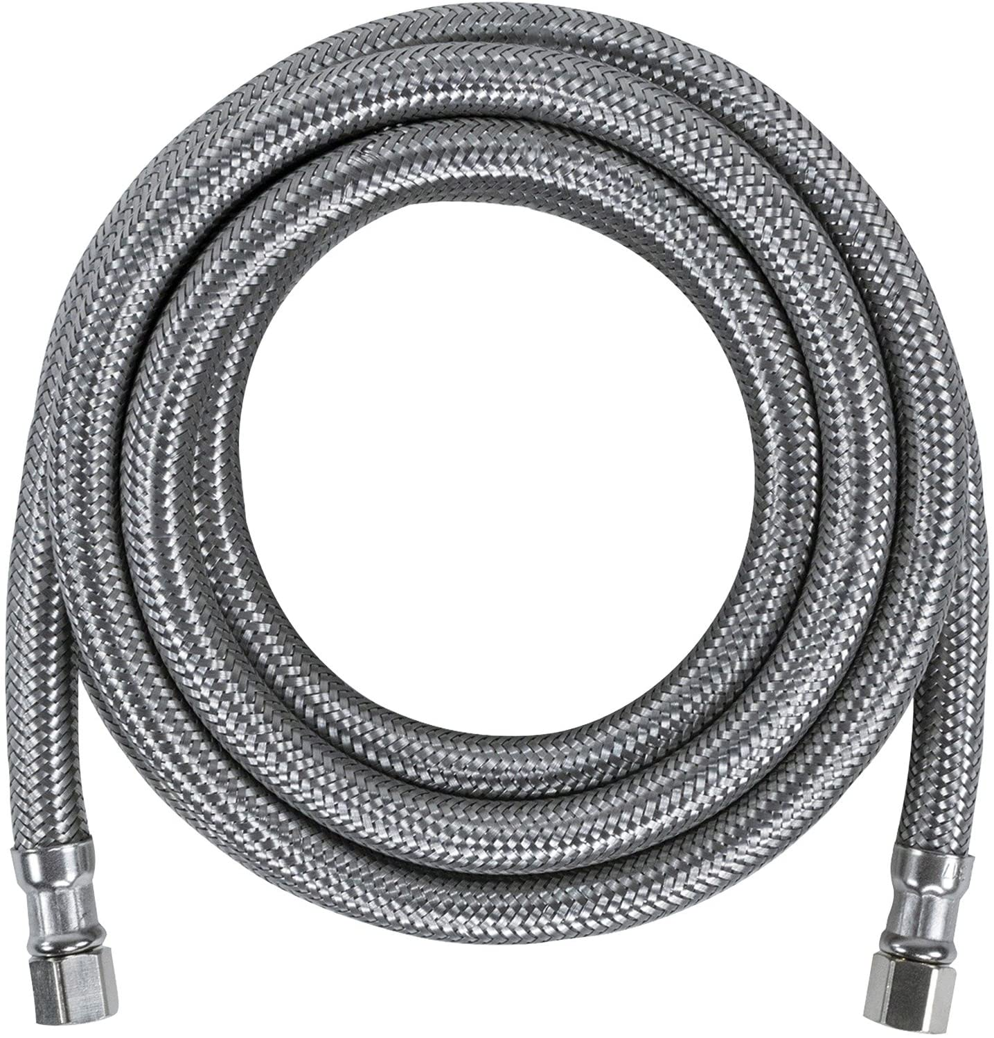 10 Feet Ice Maker Water Line Premium Braided Stainless Steel