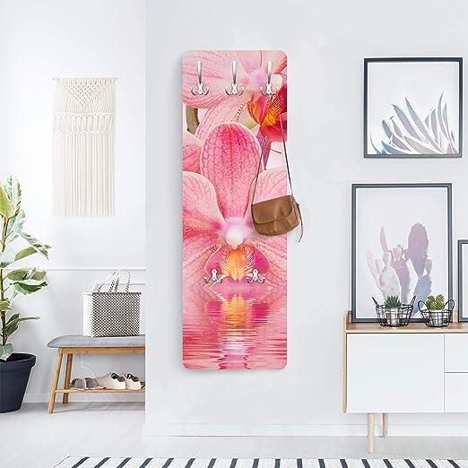 Appendiabiti da Parete Appendiabiti Design Slender 139x46x2cm Bilderwelten Appendiabiti Dimensione: 139cm x 46cm Appendiabiti a Muro Pink Cosmos Appendiabiti da Muro