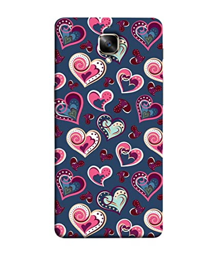 Oneplus 3t One Plus 3t Back Cover Cute Love Symbols Amazon