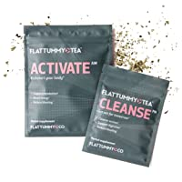 Flat Tummy Tea | All-Natural Detox Tea to Help with Bloating, Maintain Immune System...