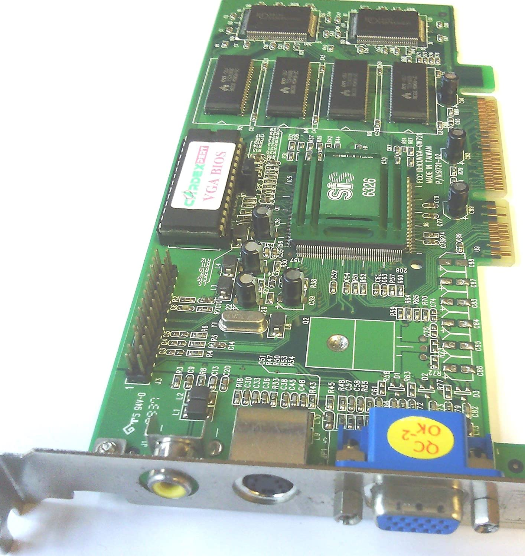 22020040-001 DIAMOND 23020041-403 SiS 6326AGP AGP VIDEO CARD