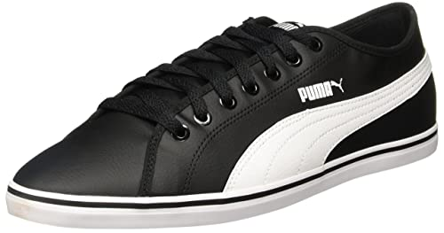 Puma ELSU V2 CV - Zapatillas Unisex Adulto, Blanco (White-Black 01), 38 EU