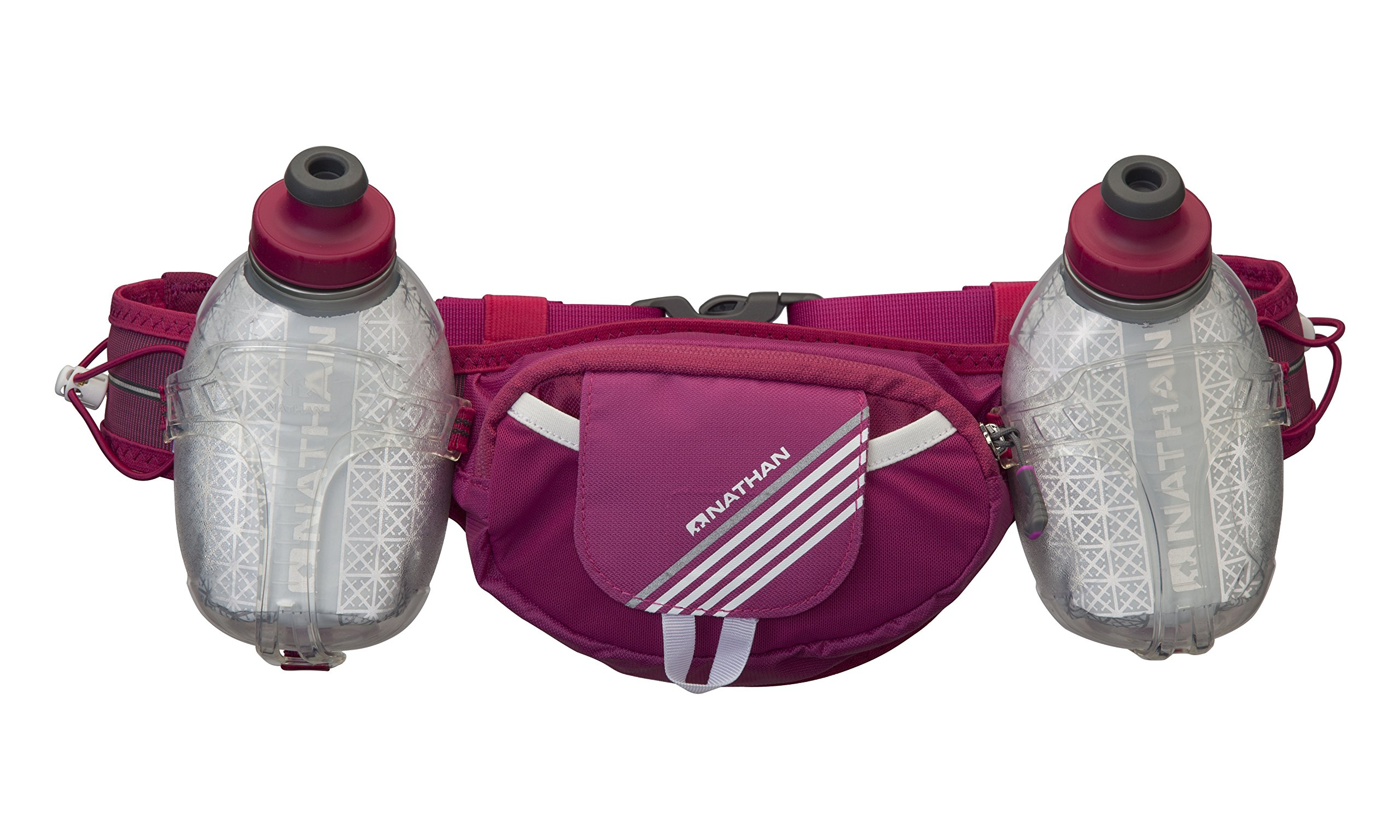 Nathan Trail Mix Plus Insulated Hydration Belt, Vivacious, One Size