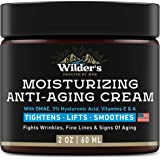 Men's Anti Aging Face Cream Moisturizer - Premium Skin Care for Men with Collagen, Retinol, Hyaluronic Acid - Made in USA - Fast Anti-Age Effect Day & Night - Wrinkle Free Facial Men Moisturizer 2Oz