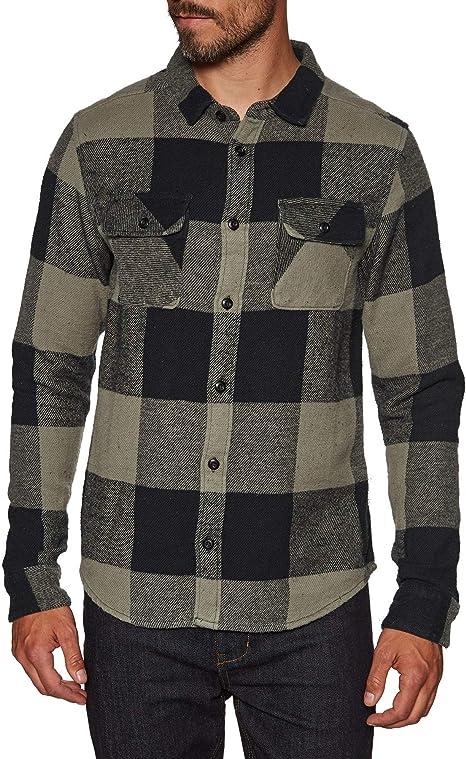 RVCA Haywire - Camisa de franela - Verde - Medium: Amazon.es: Ropa y accesorios