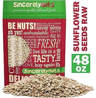 Alimentos a Live girasol Semillas núcleos (Raw) (2 libras ...