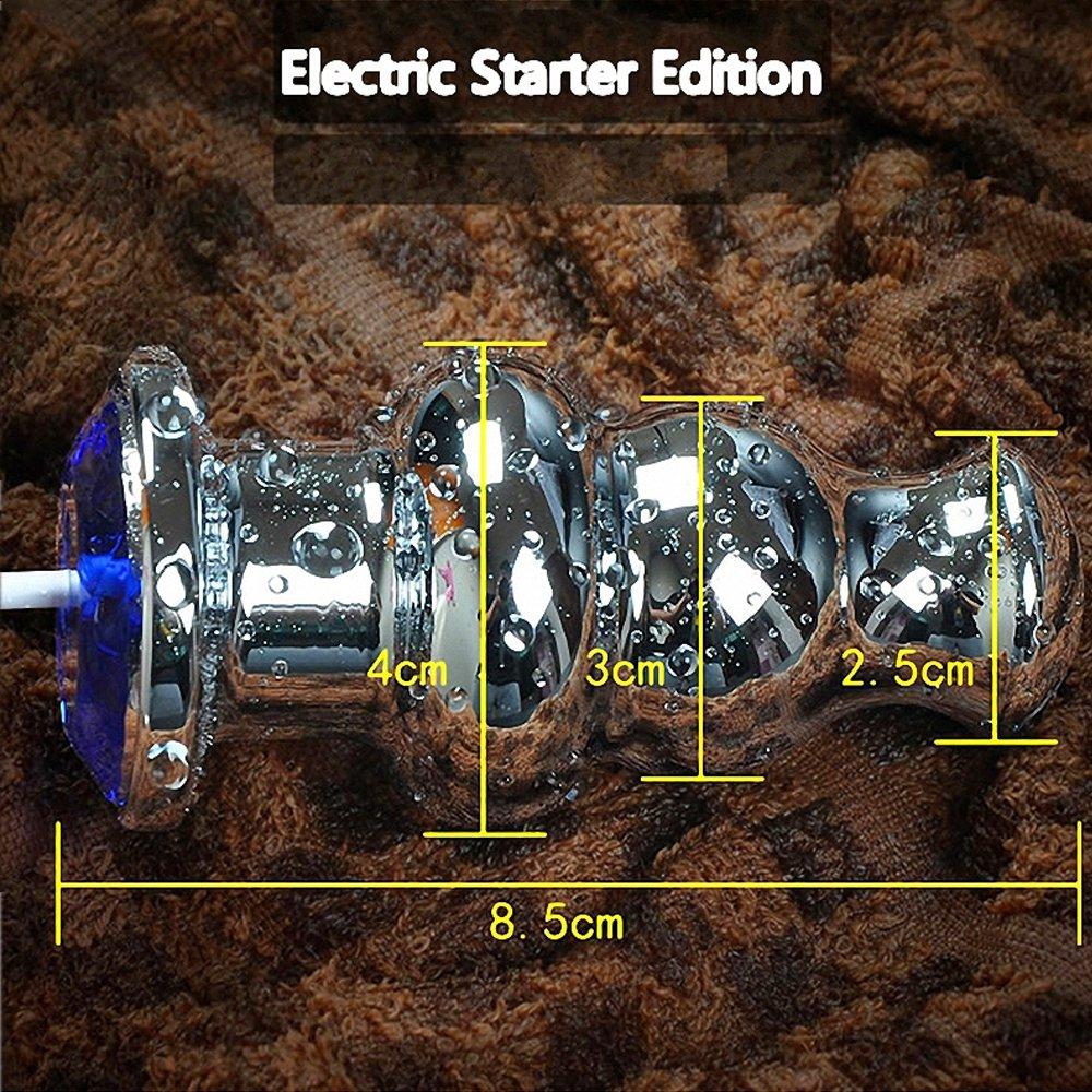 Santchcz Metal 10 Frecuencia Vibración USB Eléctrico Ano Plug Juguetes SM Hombre Juguetes Plug Mujer Productos c8524a