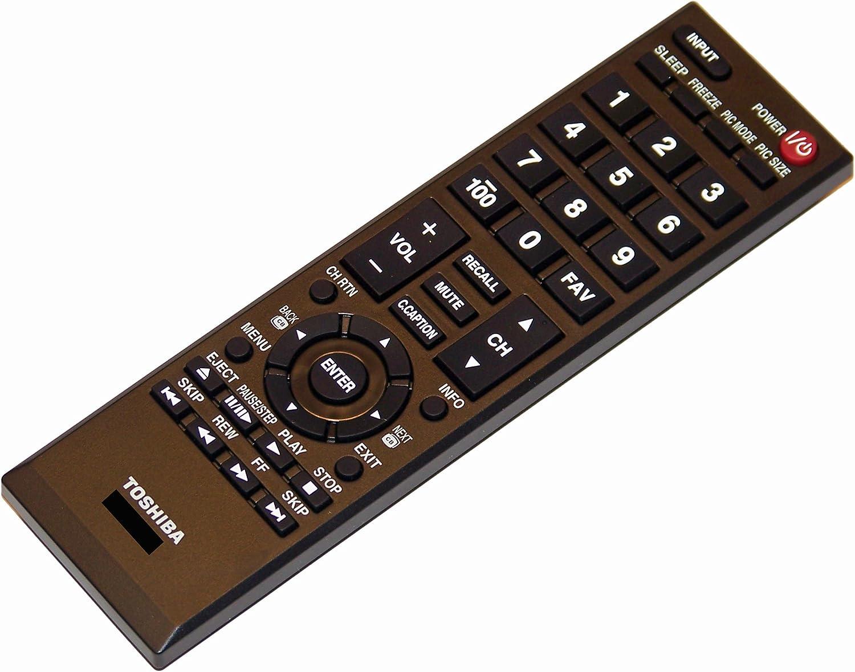 OEM Toshiba Remote Control: 65HT2U 24L4200U 32L4200U 46L5200U 50L2200U 32L2200U