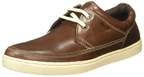 f281152de09 Image Unavailable. Image not available for. Colour  Red Tape Men s Brown  Casual Shoes ...