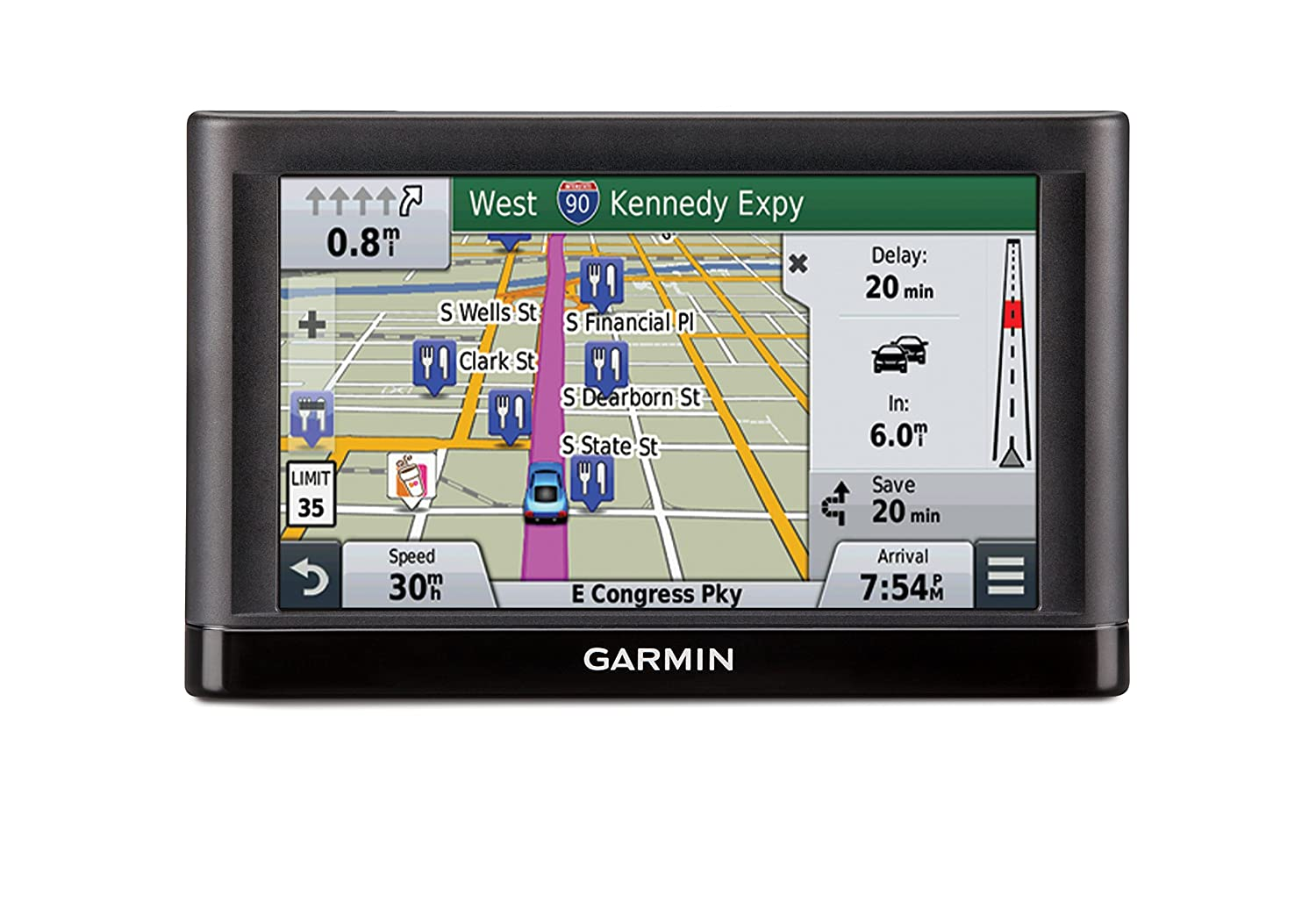 Garmin Navigators Directions Preloaded Displays Image 1