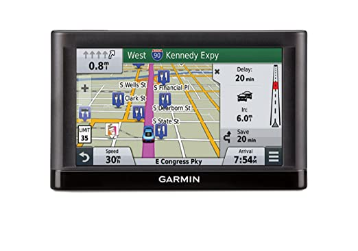 garmin nuevi 55lmt gps navigators system with spoken turn by turn directions preloaded