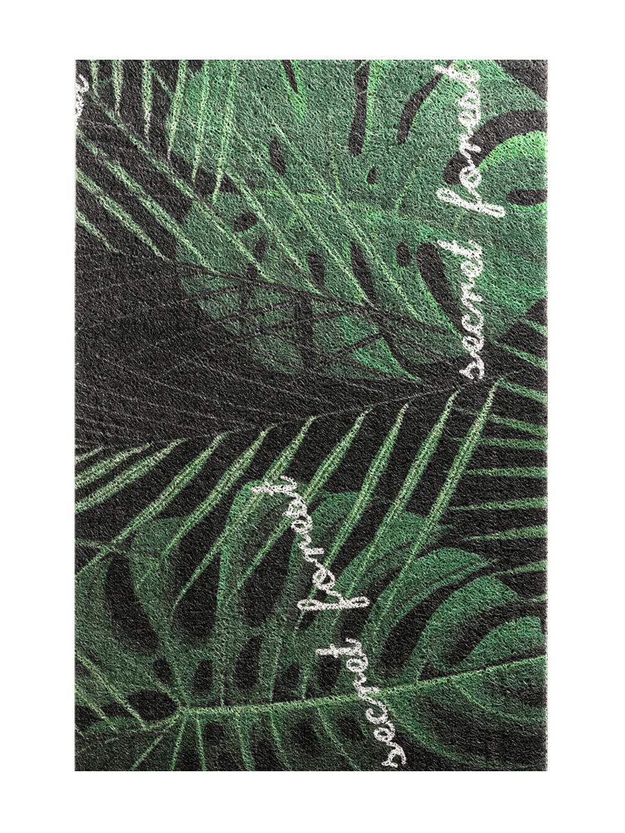 Green 100X120CM Advanced Entry pad Environmentally Friendly PVC Non-Slip Plastic Floor mat, Fast dust Removal, Home Living Room Bedroom Door(Green,100X120CM)