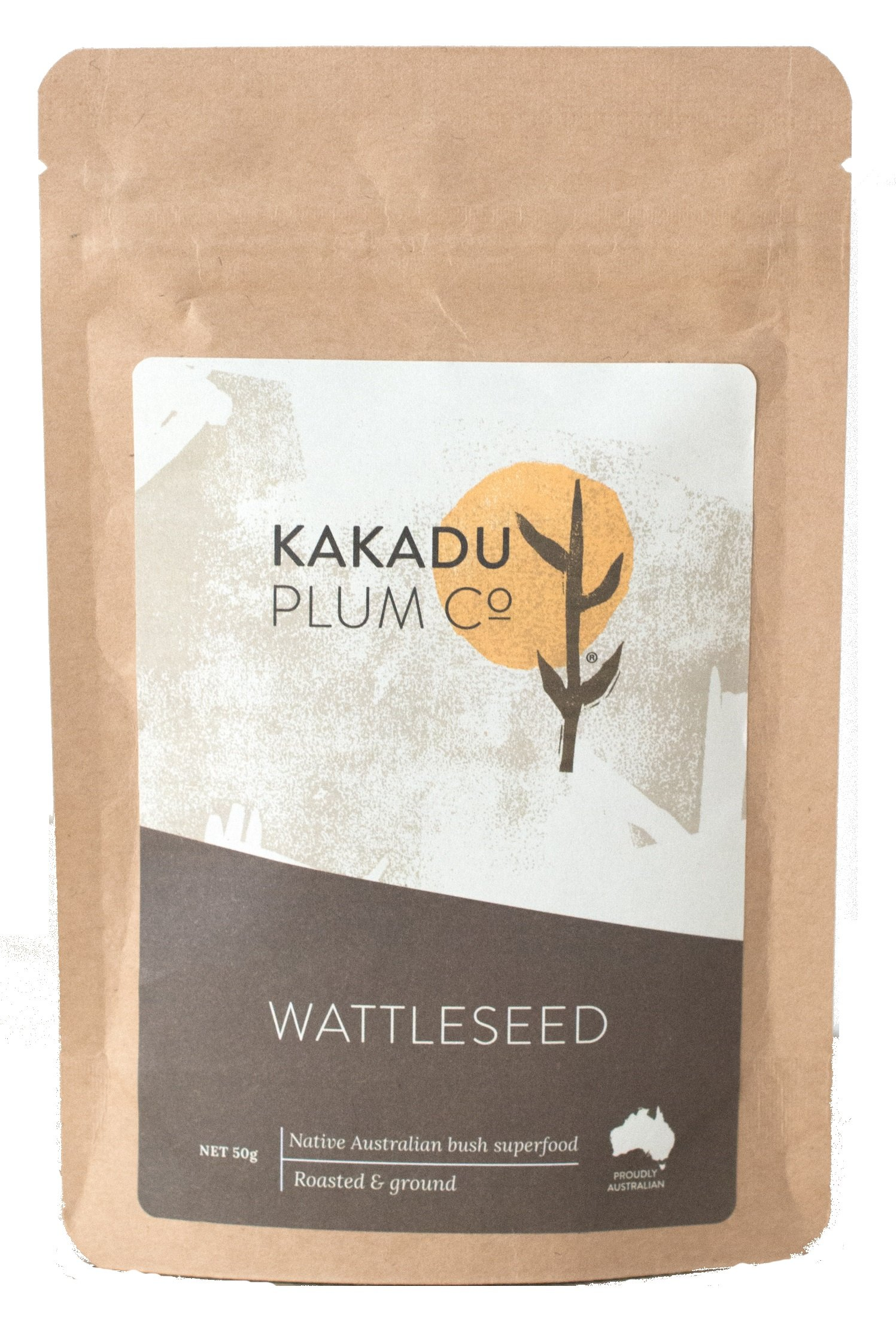 MaxRelief Kakadu Plum Wattleseed - Australian Aboriginal Superfood - Contains Magnesium, Potassium, Calcium, Iron, Selenium and Zinc. Use as a coffee substitute 1.8 oz