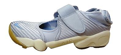 e457351195dc Nike Women s WMNS Air Rift Sneakers Blue Size  2.5 UK