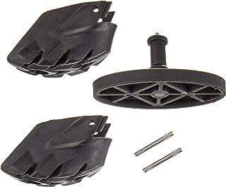 LEKI Smart Tip Pad-Pads de Rechange Inclus adulte Noir Taille Unique LEKI6|#LEKI 8826101Œ03