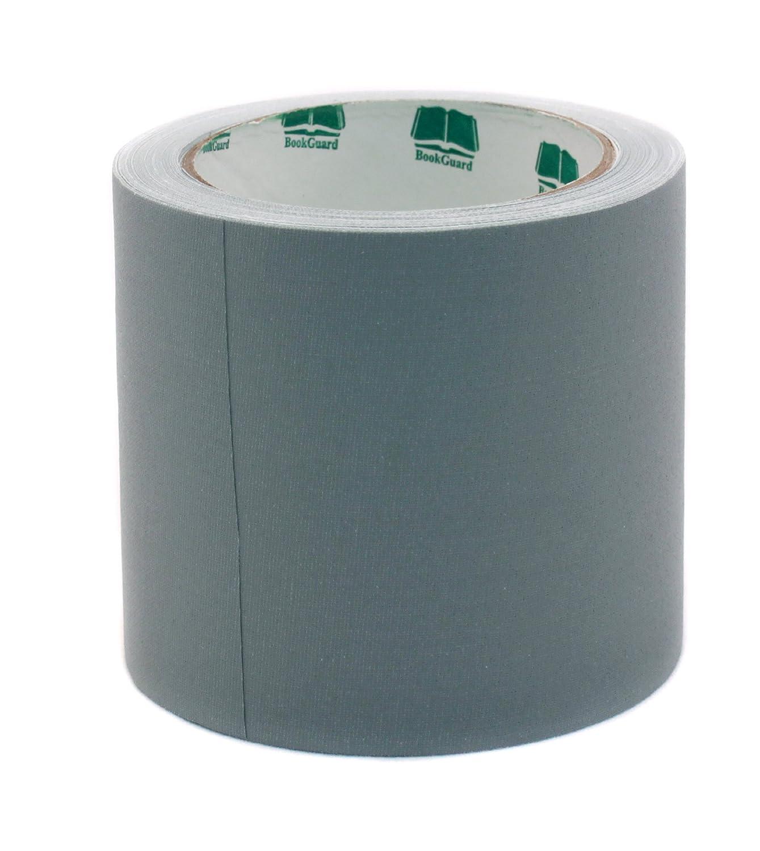 4 Gray Colored Premium-Cloth Book Binding Repair Tape | 15 Yard Roll (BookGuard Brand) by Bookguard B00W1W41VO グレー グレー
