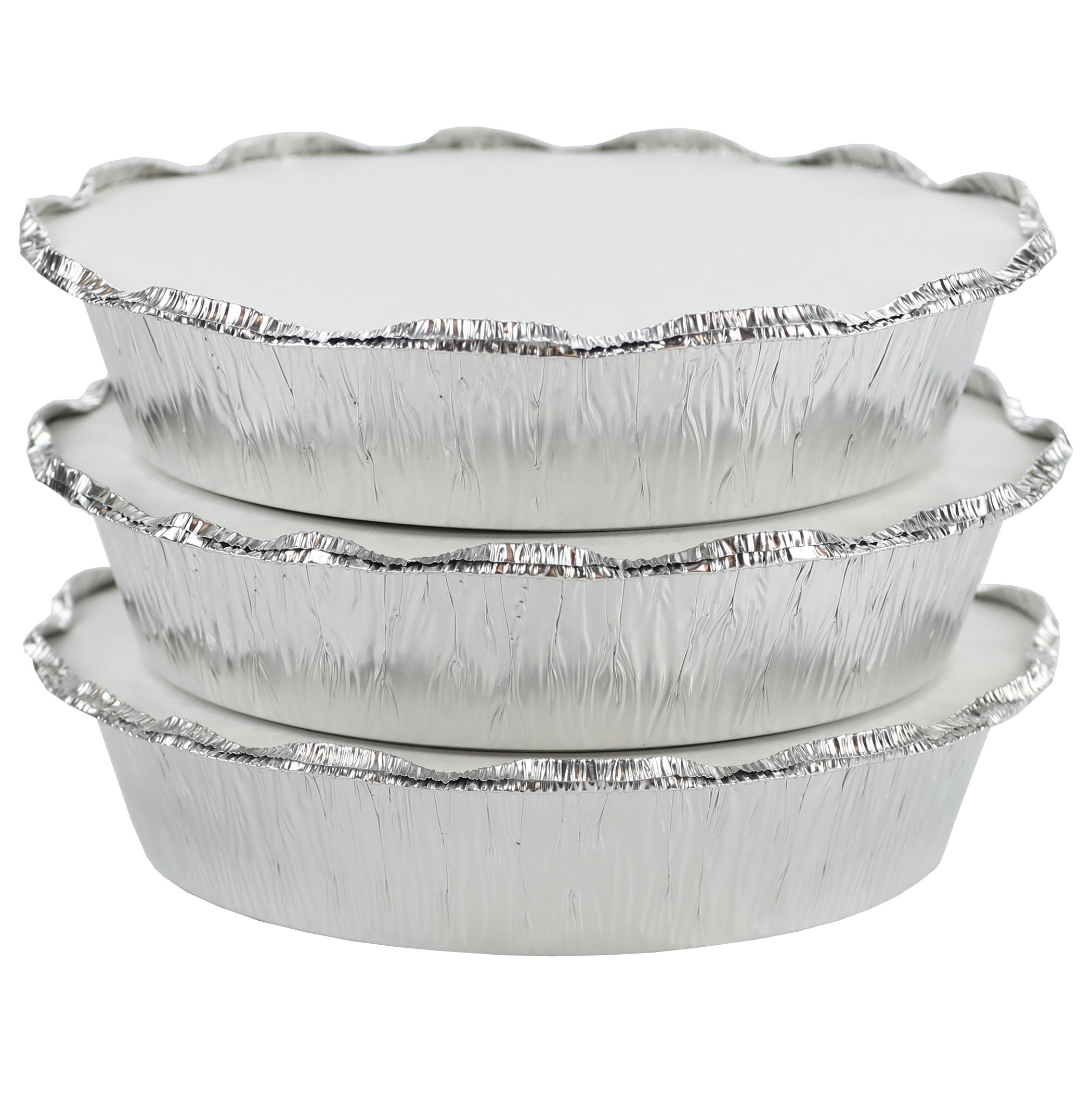 Simply Deliver 9-Inch Round Disposable Take-Out Pan, 30 Gauge Aluminum, 500-Count by Simply Deliver (Image #4)