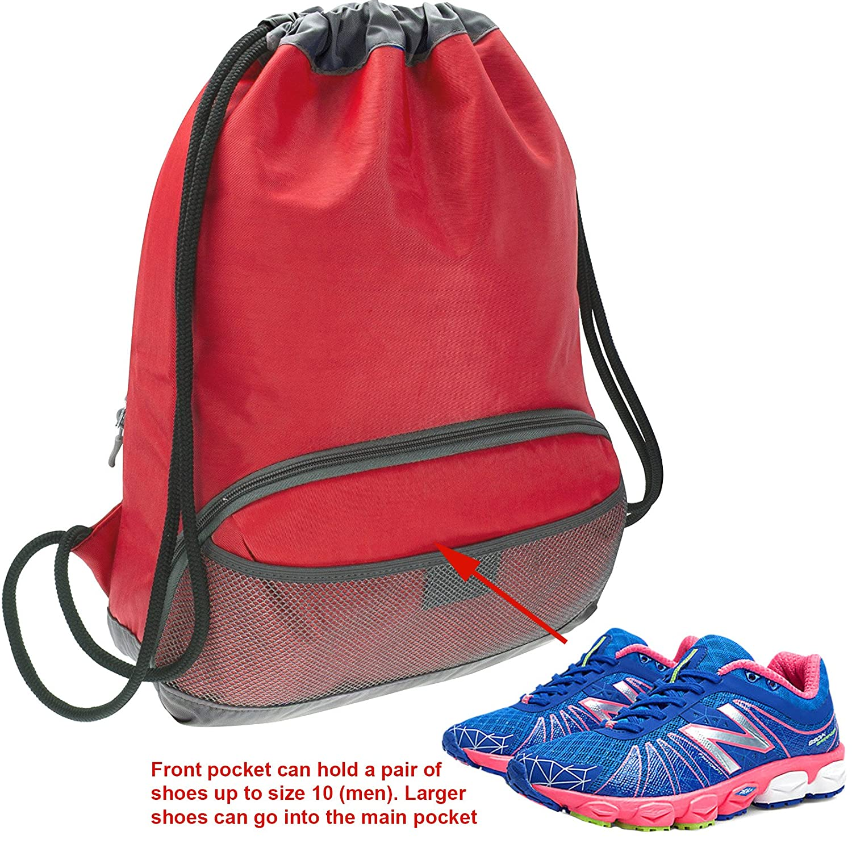 gimnasio mochila con cord/ón Mochila impermeable para deportes de nataci/ón Red With Handle mochila para ni/ños baile ButterFox hombres y mujeres tela exterior impermeable