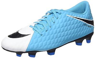 meet aeba1 c5b54 Nike Hypervenom Phade Iii, Chaussures de Football Entrainement Homme, Blanc  Cassé (White/