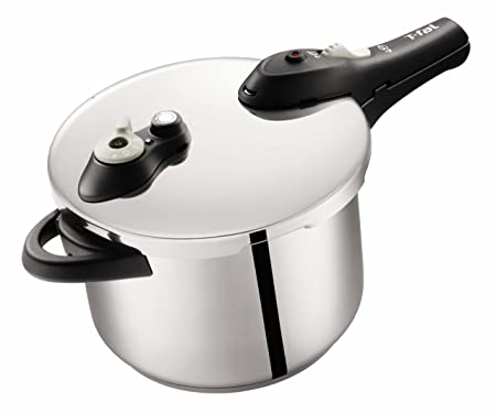Tefal Secure 5 Stainless Steel Pressure Cooker 6 L Amazon